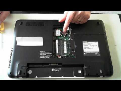 Toshiba Satellite L750D - Memory & HDD Upgrade