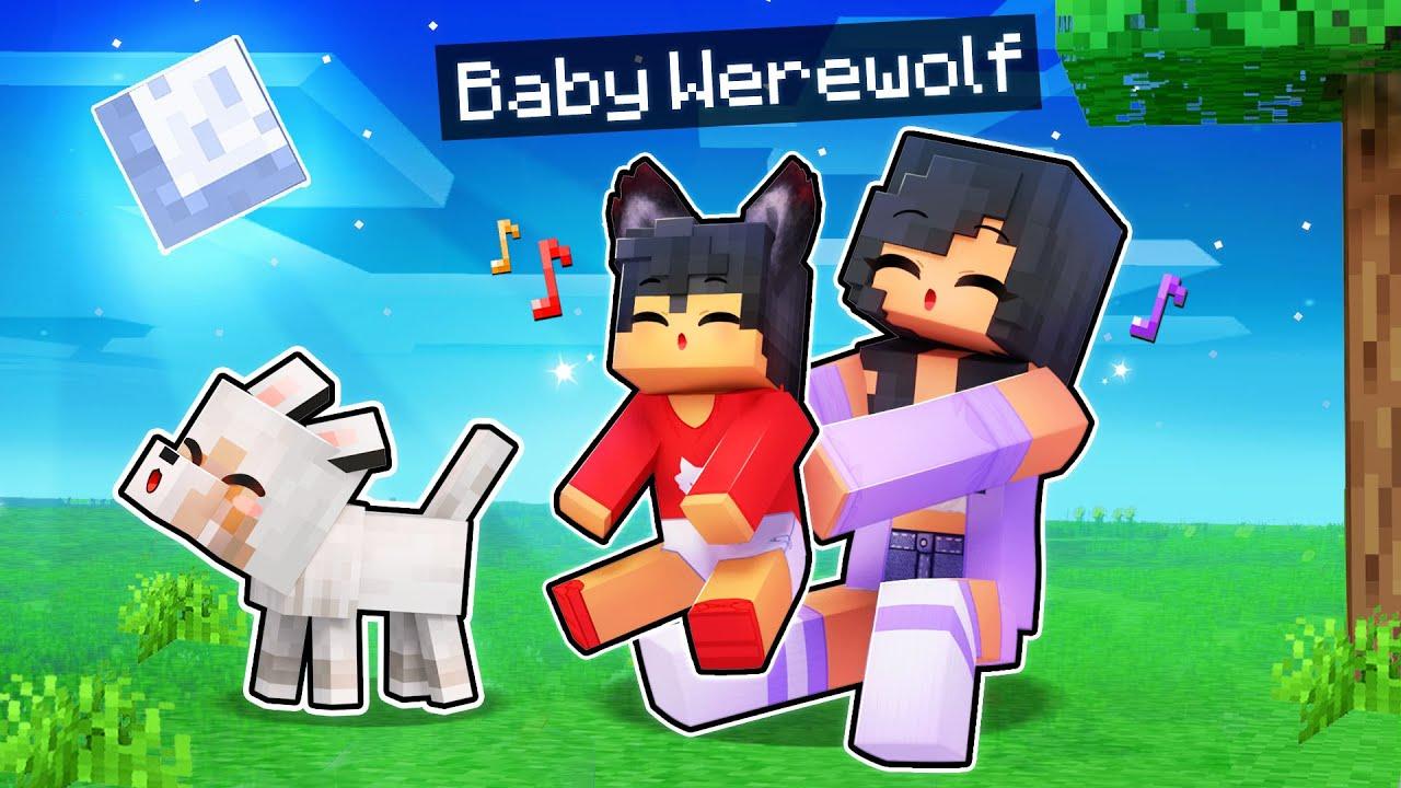 We ADOPTED A Baby WEREWOLF In Minecraft!