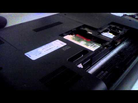 Compaq Presario CQ57 - How to remove ram and install a new one or upgrade ram