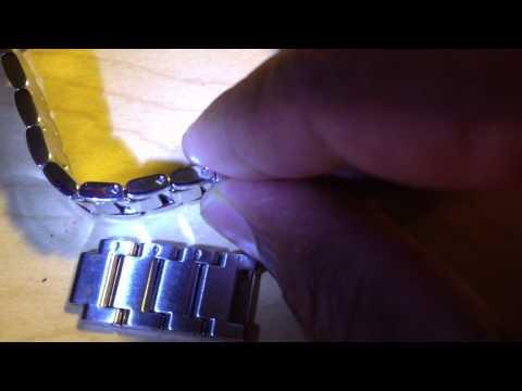 Bulova Ladies Watch Link Adjustment