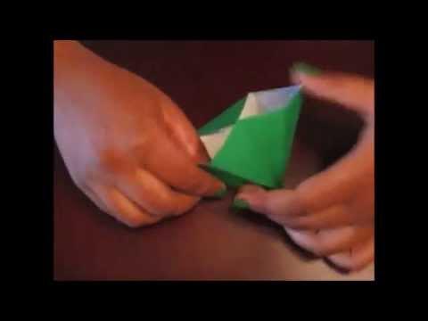 Origami Pine Tree