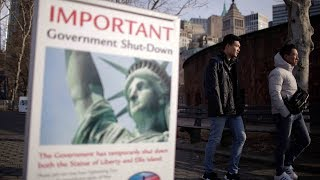 Hundreds of thousands on unpaid leave amid US gov
