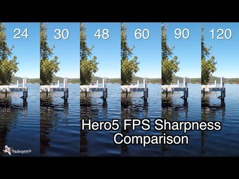Hero5 Black - 1080p 24-120 FPS Quality Sharpness Comparison - GoPro Tip #546