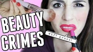 Stop These Makeup Crimes | Beauty Habits to Break NOW -  [ But First, Coffee ]