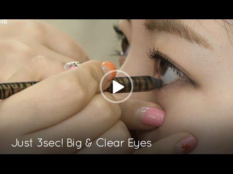 [Korean Beauty]Bigger Eyes in 3 Seconds! Circle Lens Eye MakeUp