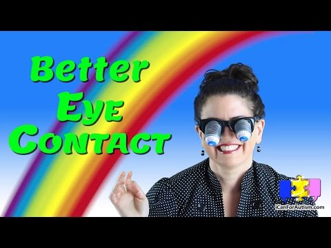 Best Methods for Teaching Eye Contact to Your Child w/ Autism