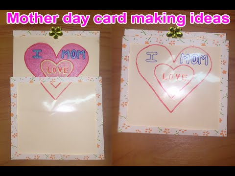 Mother day card making ideas