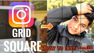 9 SQUARE BIG PHOTO ON INSTAGRAM ▪️LOOKING UNIQUE PHOTO//HOW TO UPLOAD BEST GRID PHOTOS ON INSTAGRAM