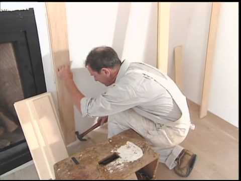 Fabricating and Installing Colonial-Style Wood Wall Panels