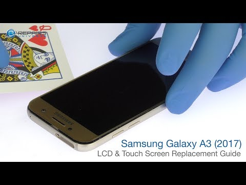 Samsung Galaxy A3 (2017) LCD & Touch Screen Replacement Guide - RepairsUniverse