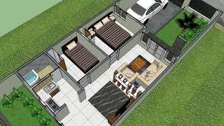 download gambar desain rumah ukuran 5x9