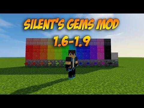 MINECRAFT MOD SHOWCASE // SILENT'S GEMS MOD | MINECRAFT 1.6 THROUGH 1.9