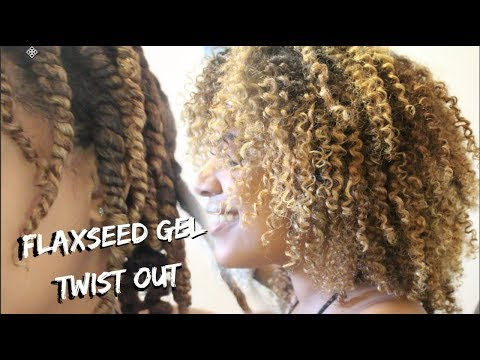 Super Defined Twist Out On Curly Natural Hair