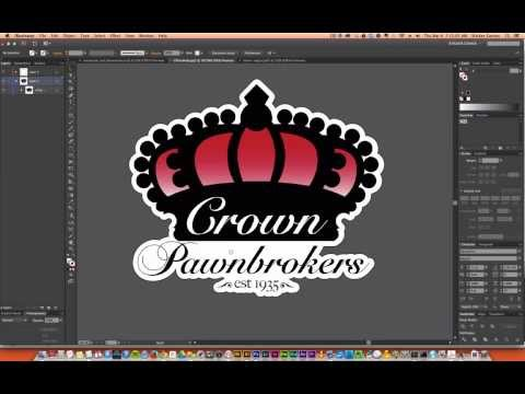 How to Create Custom Sticker Cut Line in Illustrator
