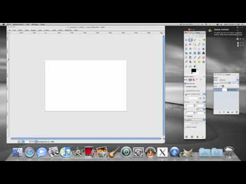 How to draw a perfect circle in GIMP