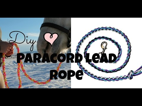 DIY~ Paracord Lead Rope