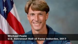 Michael Foale 2017 U.S. Astronaut Hall of Fame Inductee