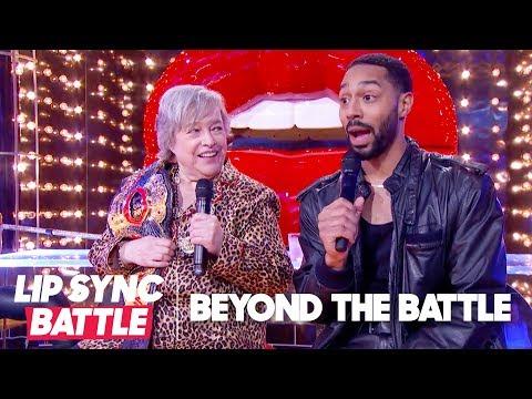 Kathy Bates & Tone Bell Go Beyond the Battle | Lip Sync Battle