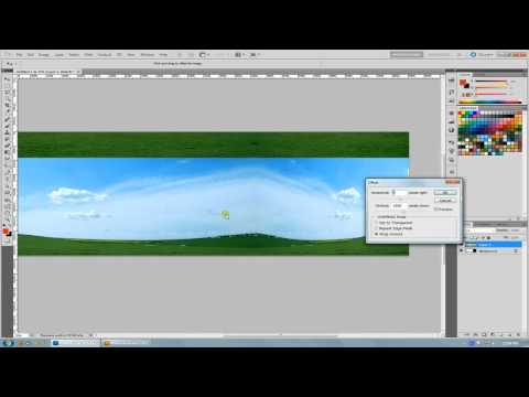 Photoshop Tutorial, Faking A Mirror Ball For Spherical Textures And Maps