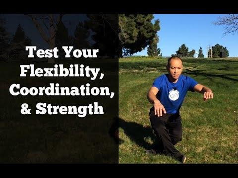 Test Your Flexibility, Strength, Coordination, & Balance