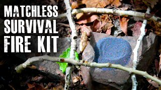Download Make a ″Matchless″ Survival Fire Kit Video