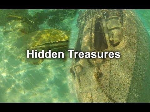 Disney Cruise Castaway Cay Snorkeling Sunken Submarine, boat, Anchor HD