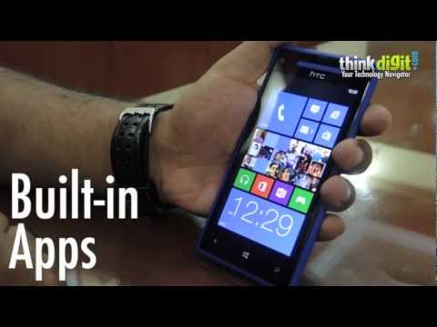 HTC Windows Phone 8X - Built-in Apps