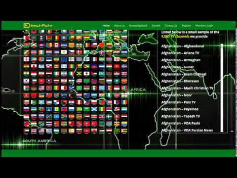Direct PCTV Watch TV On PC/Laptop/Tablet/Smartphone Over 9000+ Channels!