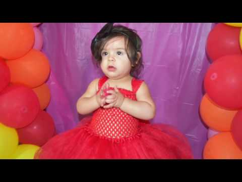 How To Make A Tutu Dress (Elmo ) No Sewing Needed