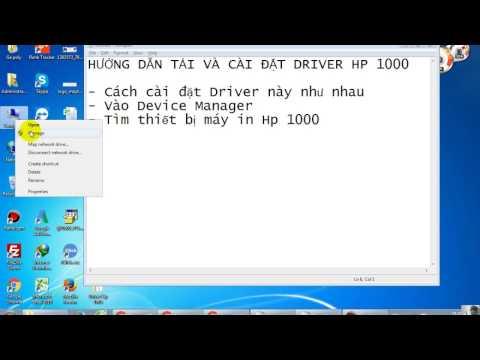 Tải, Download Driver HP LaserJet 1000 Series - Win XP, Win 7, Win 8, Win 10
