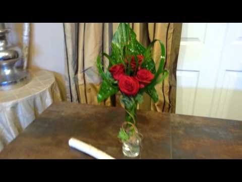 Creative Touches: Rose Bud Vase