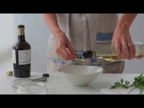 How to Make Vinaigrette with Coconut Oil