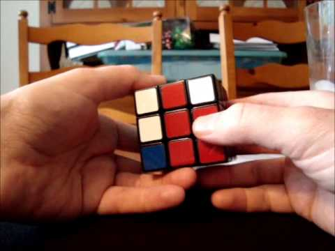 Solve Rubik's Cube without memorization - Part 8 - Difficult 3-corner situations #1