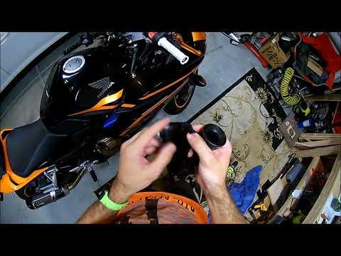 CBR500R Changing Handlebar Grips