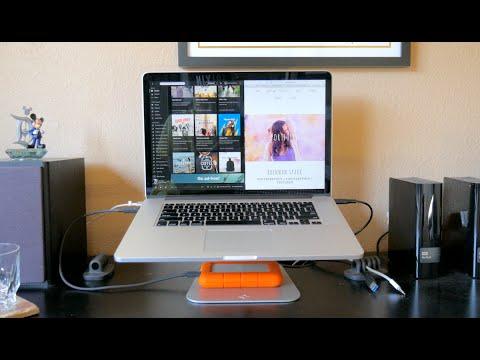 HiRise adjustable MacBook Stand Review | Twelve South