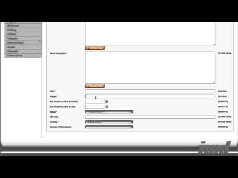 Creating A Magento Product