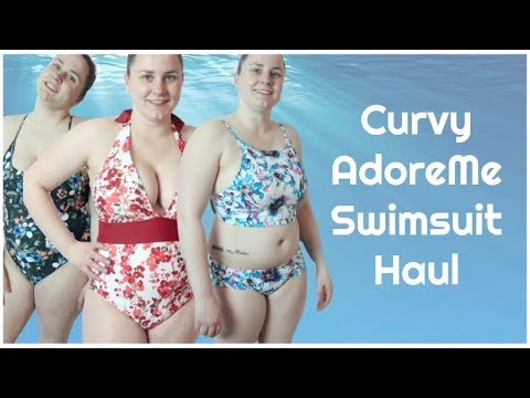 CURVY ADORE ME SWIMSUIT HAUL   Allie Young