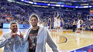 Devin Booker Got Me BACKSTAGE PASSES! *Crazy Front Row Seats*