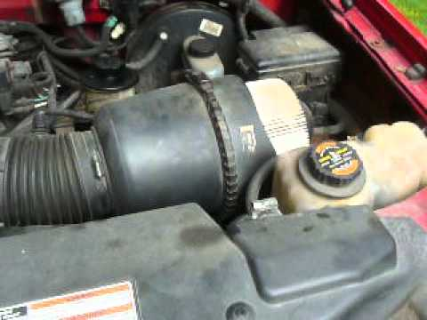 Ford truck, 5.4. Short Ram Air Intake, No cost to make