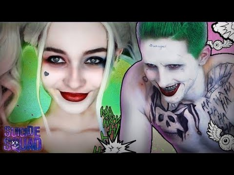 Joker/Harley Makeup Tutorial + Skit