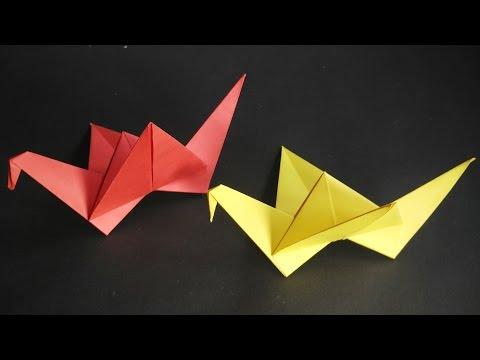 Origami Flying Bird (Very Easy)