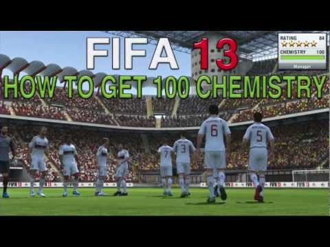FIFA 13: How To Get 100 Chemistry