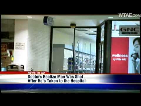 Man Complains Of Stomach Pain; Doctors Realize It's Gunshot