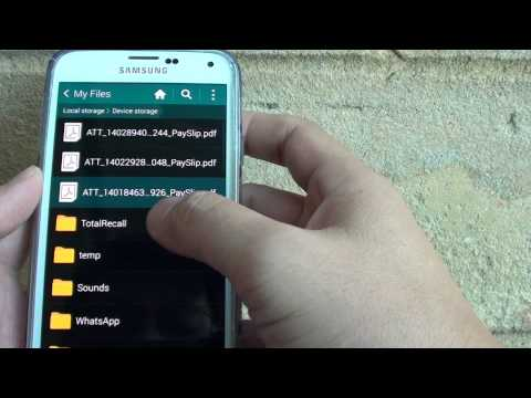 Samsung Galaxy S5: How to Manage and Organize Files