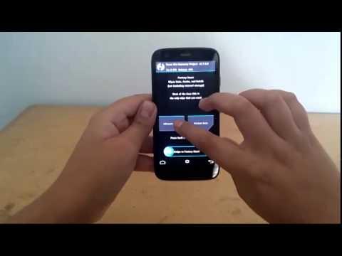 Instalar android 4.4.4 cyanogenmod 11 para Moto G