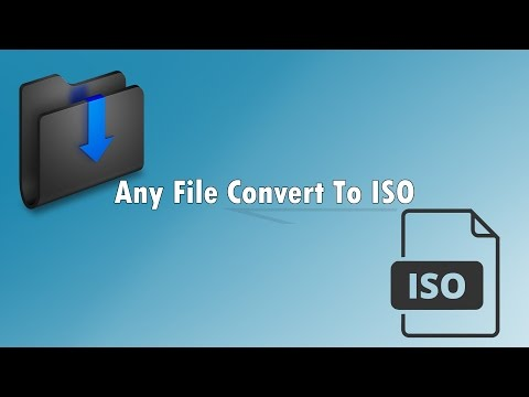 How to convert and extract iso file - Anytoiso