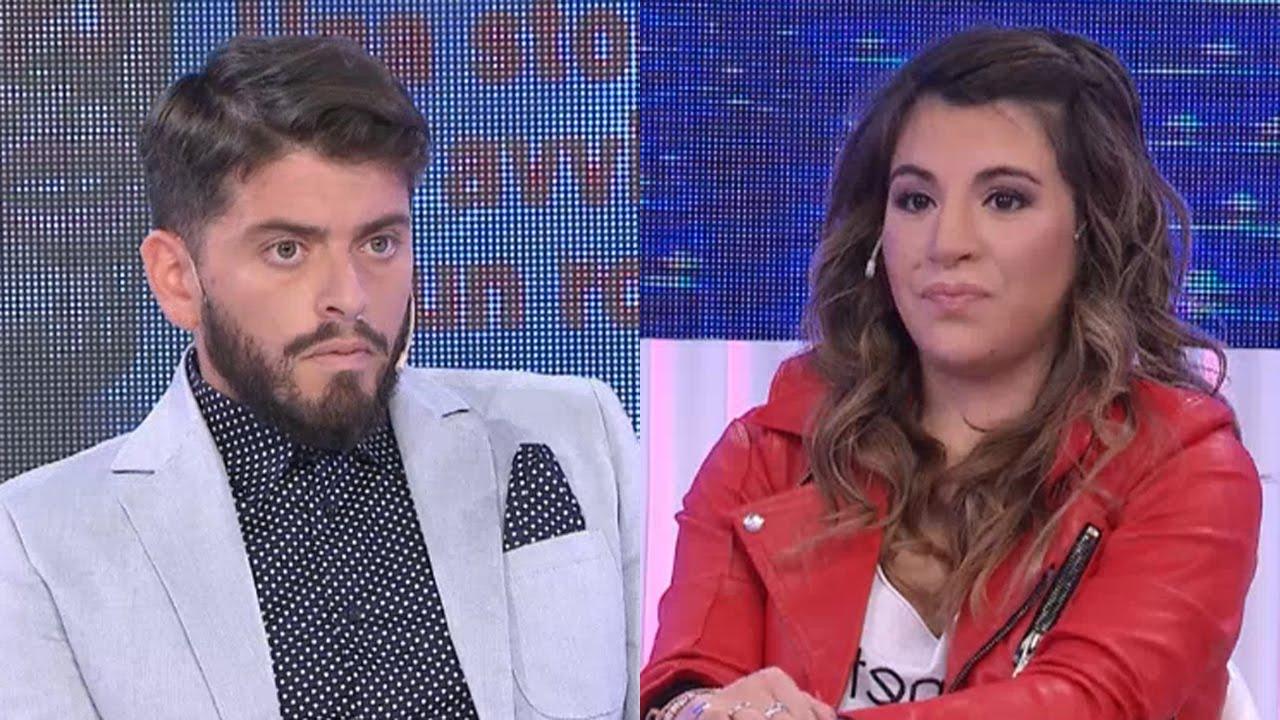 Gianinna Maradona y Diego Jr se cruzaron por primera vez en vivo