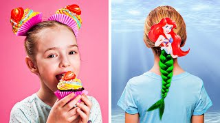 8 CUTE HAIRSTYLES IDEAS FOR GIRLS || Help is on the way by 123 GO! KIDS