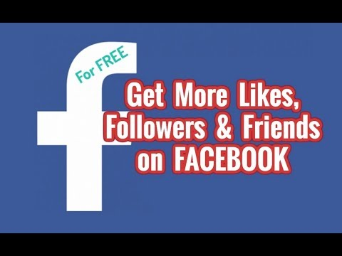 HOW TO GET MORE FACEBOOK LIKES AND FOLLOWERS