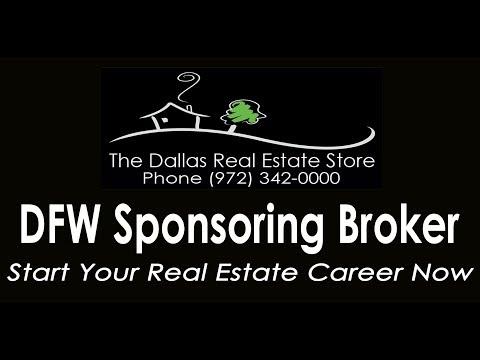 Dallas Texas Sponsoring Real Estate Broker